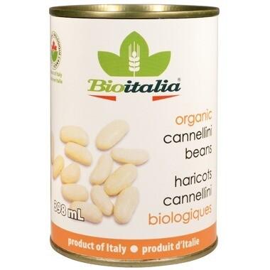 BIOITALIA Cannellini Beans 398ml