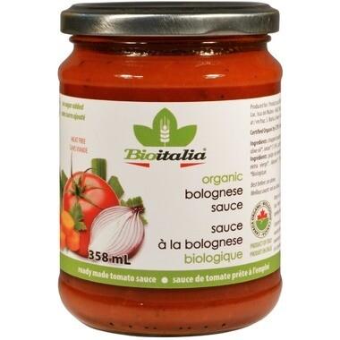BIOITALIA Bolognese Sauce 358ml