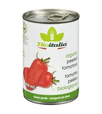 BIOITALIA Peeled Tomatoes 398ml