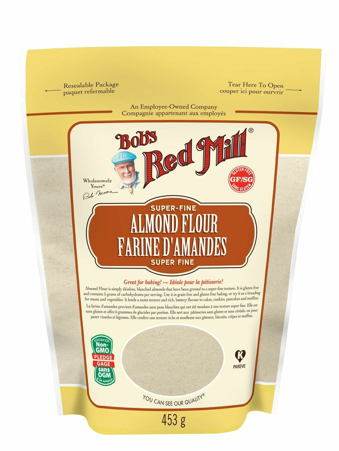 BOBS RED MILL Almond Flour 453g