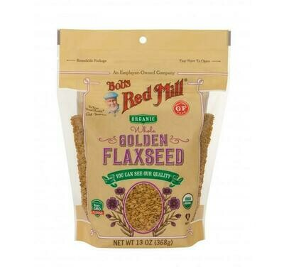 BOBS RED MILL Whole Golden Flaxseed ORGANIC 368g