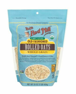 BOBS RED MILL Rolled Oats 454g