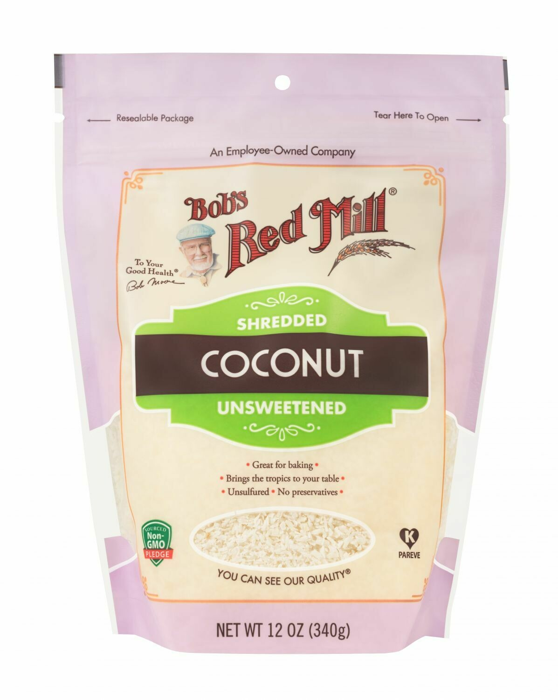 BOBS RED MILL Shredded Coconut 340g