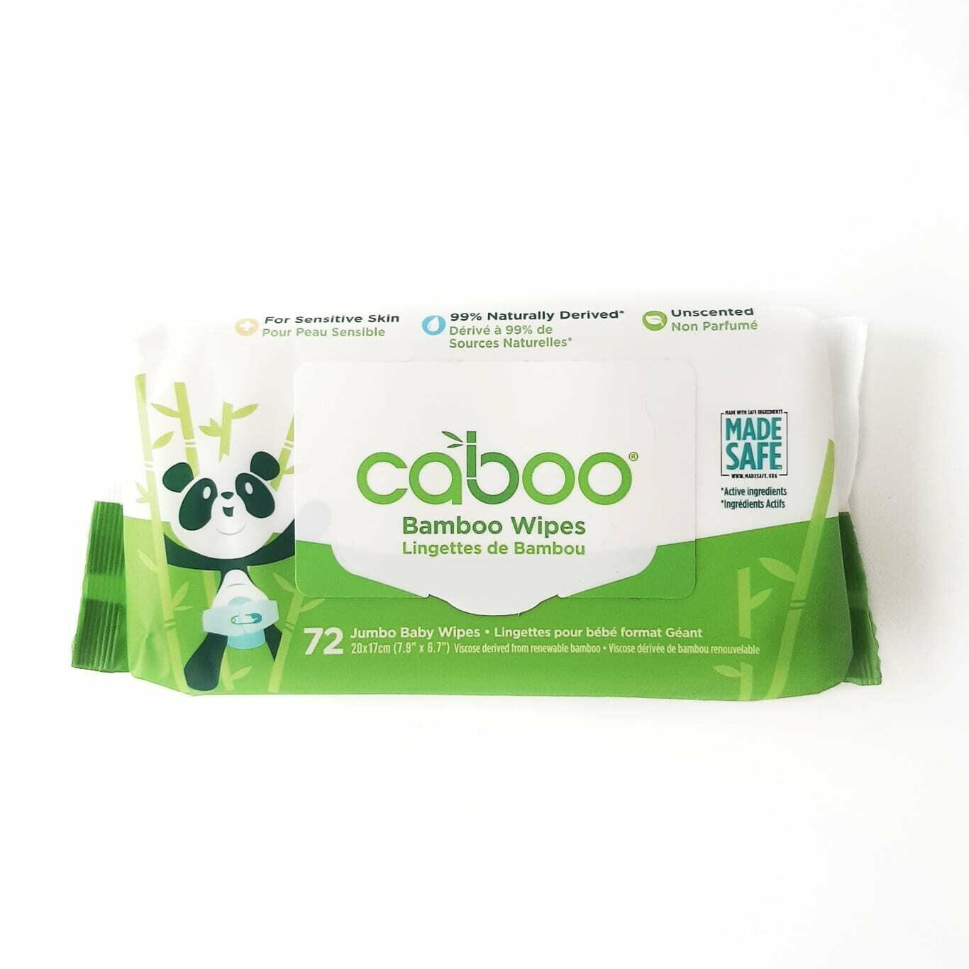 CABOO Baby Wipes 72ct