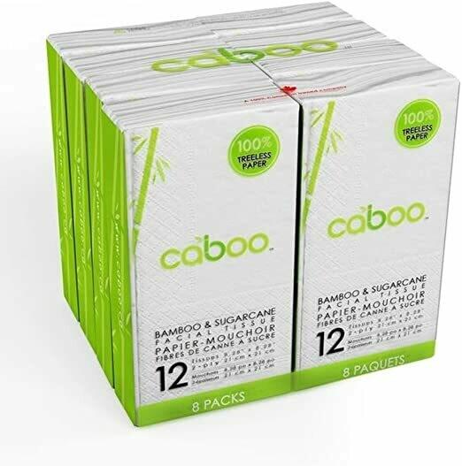 CABOO Facial Tissue 8pk