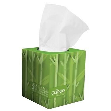 CABOO Facial Tissue 90pk