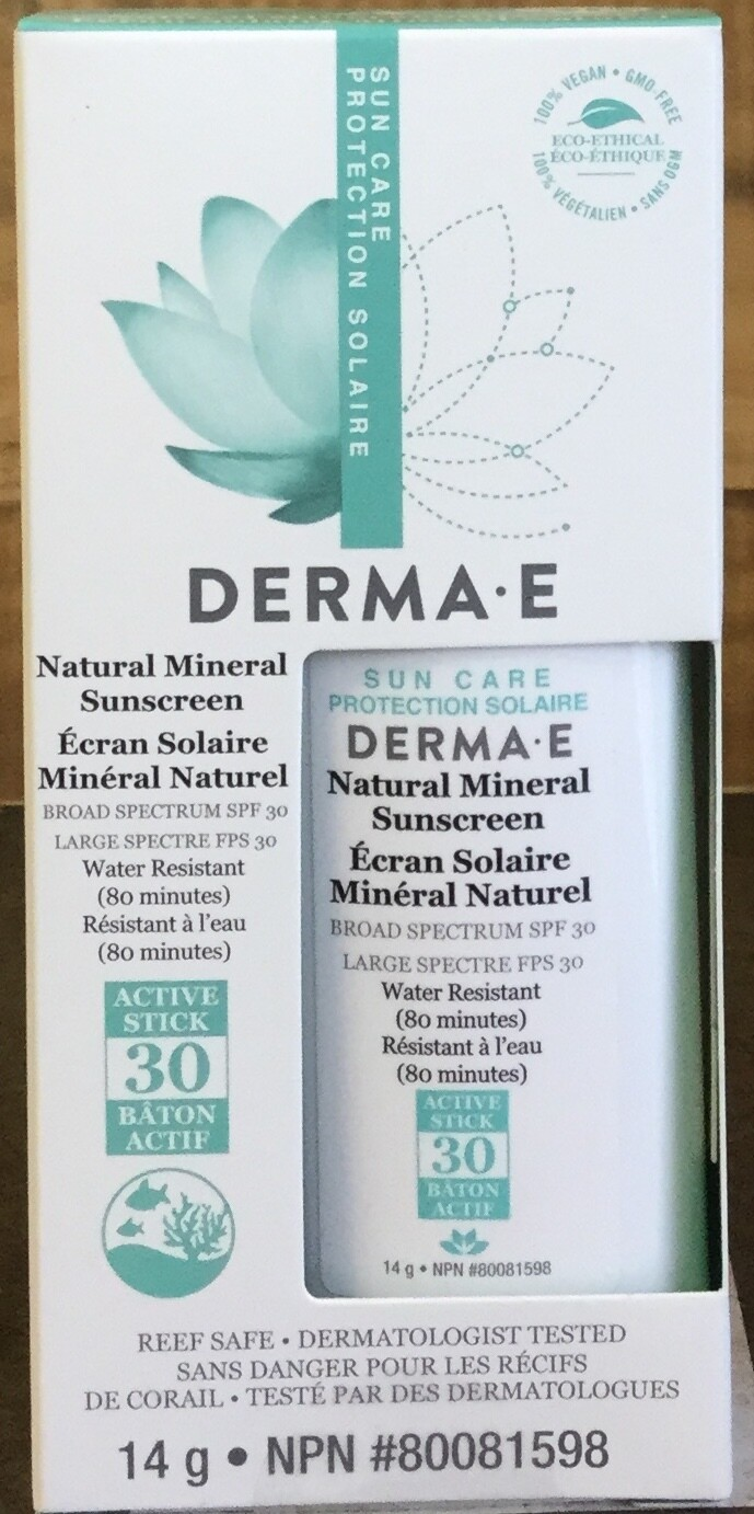 DERMA-E Natural Sunscreen 14g