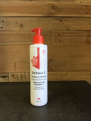 DERMA-E Vitamin A Cleanser 175ml
