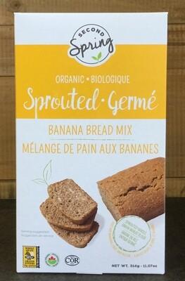 SECOND SPRING Banana Bread Mix