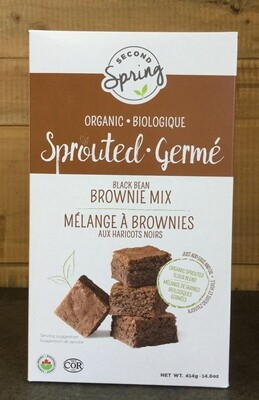 SECOND SPRING Brownie Mix