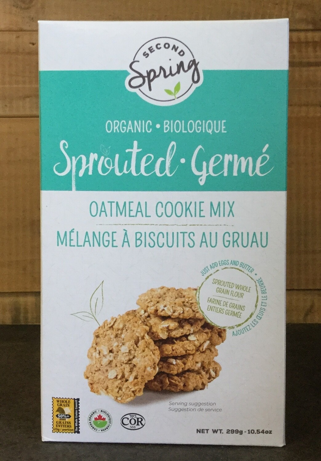 SECOND SPRING Oatmeal Cookie Mix