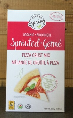 SECOND SPRING Pizza Crust Mix
