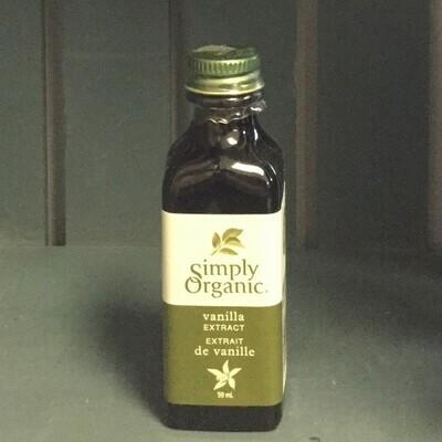 SIMPLY ORGANIC Vanilla Extract 59ml