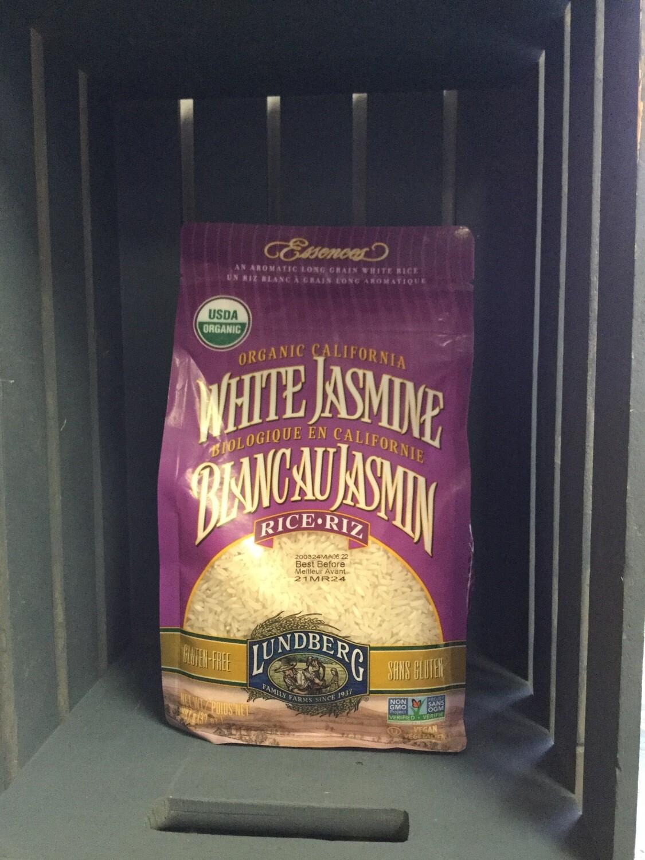 LUNDBERG Rice White Jasmine 907g