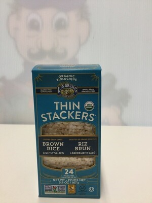 LUNDBERG Thin Stackers Brown Rice