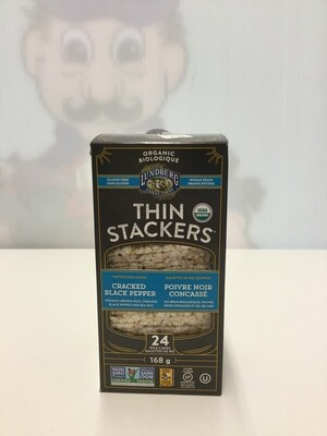LUNDBERG Thin Stackers Black Pepper