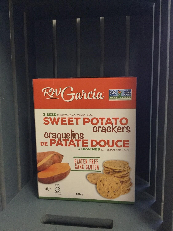 RW GARCIA Sweet Potato Crackers 180g