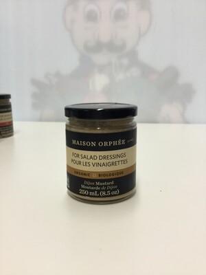 MAISON ORPHEE Dijon Mustard 250ml