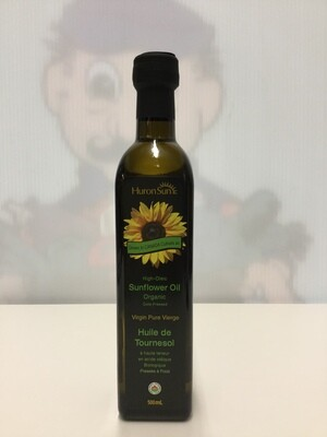 HURON SUN Sunflower Oil - Virgin 500ml
