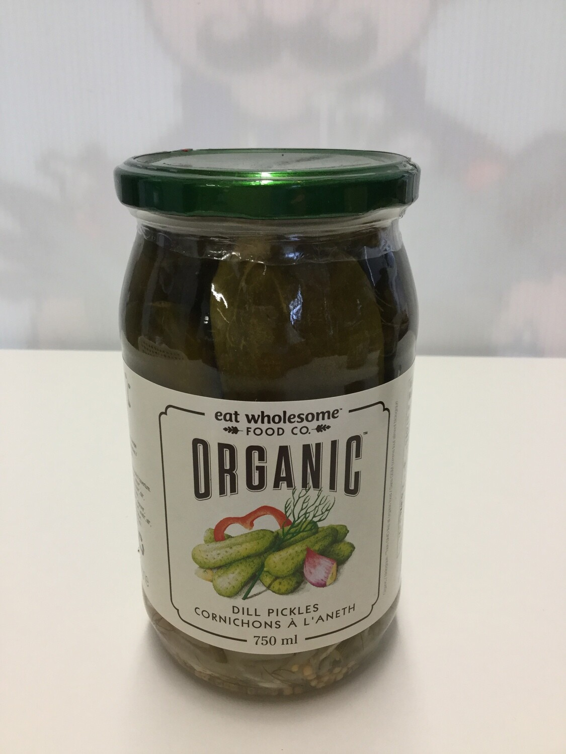 EAT WHOLESOME Dill Pickles 750ml