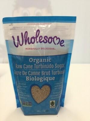 WHOLESOME Raw Cane Turbinado Sugar Organic