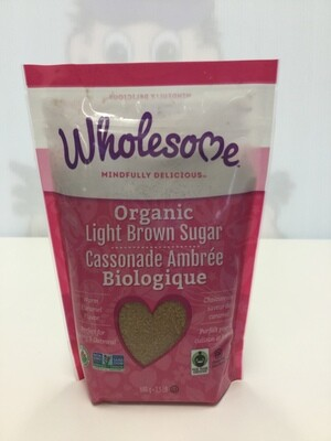 WHOLESOME Light Brown Sugar 680g