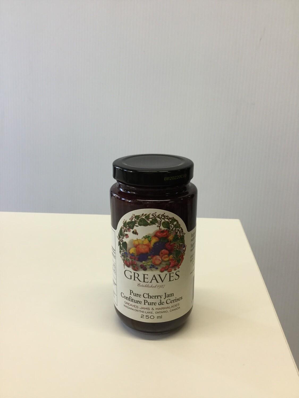 GREAVES Pure Cherry Jam 250g