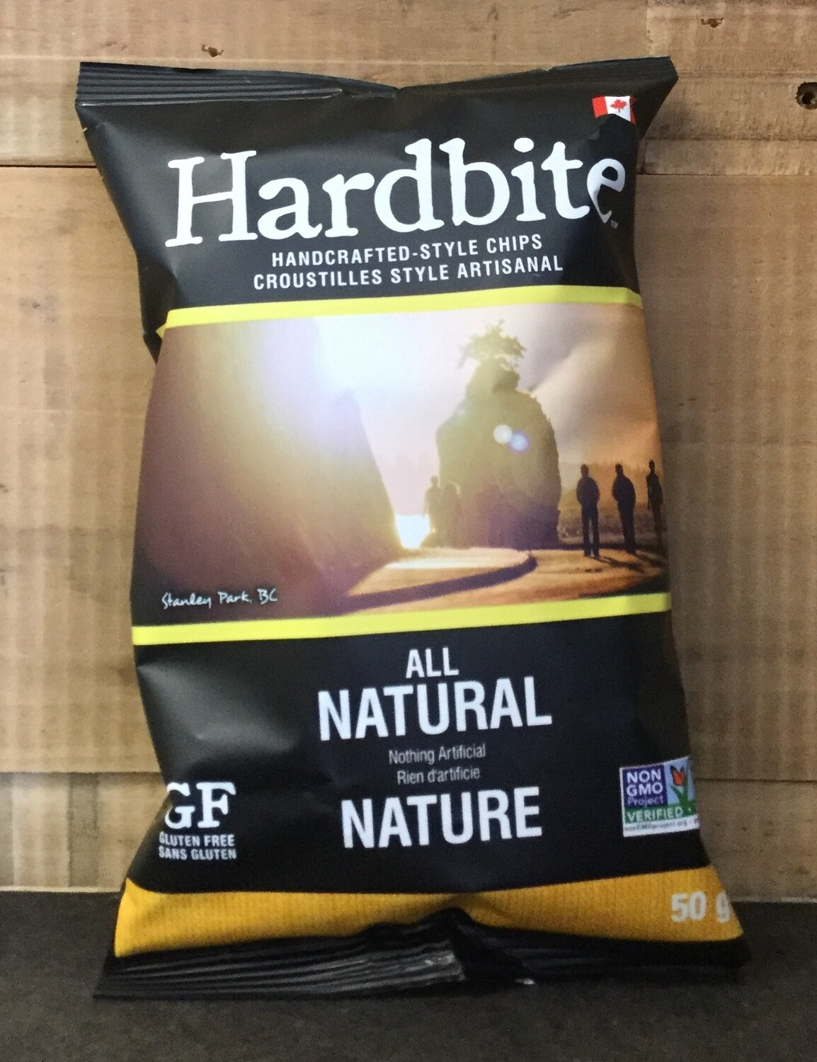 HARDBITE Chips All Natural 150g