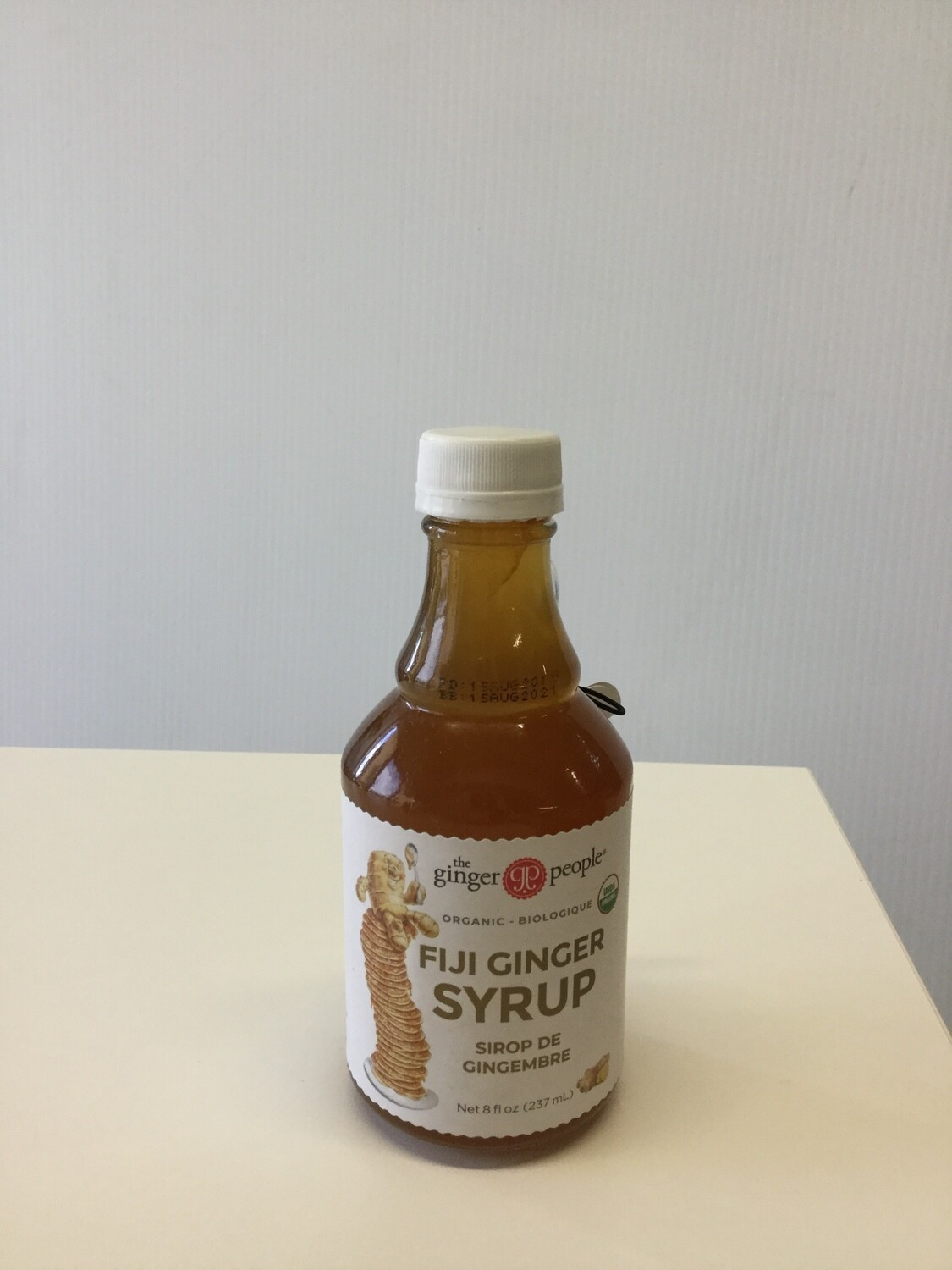 GINGER PEOPLE Ginger Syrup 237ml