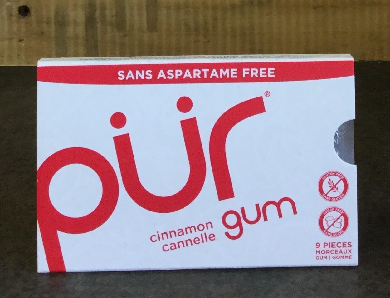 PUR Cinnamon Gum 12.6g