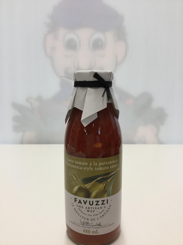 FAVUZZI Puttanesca Sauce 480ml