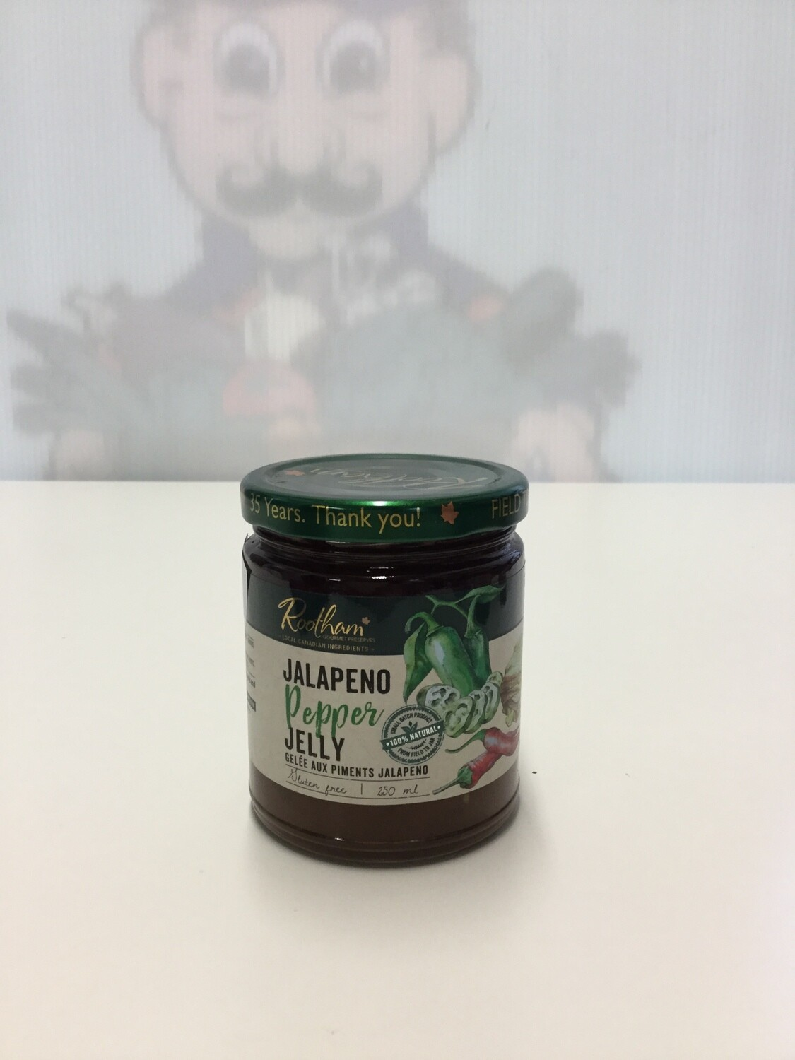 ROOTHAMS Jalapeno Pepper Jelly 250ml