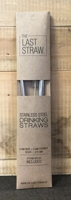 LAST STRAW Stainless Duo