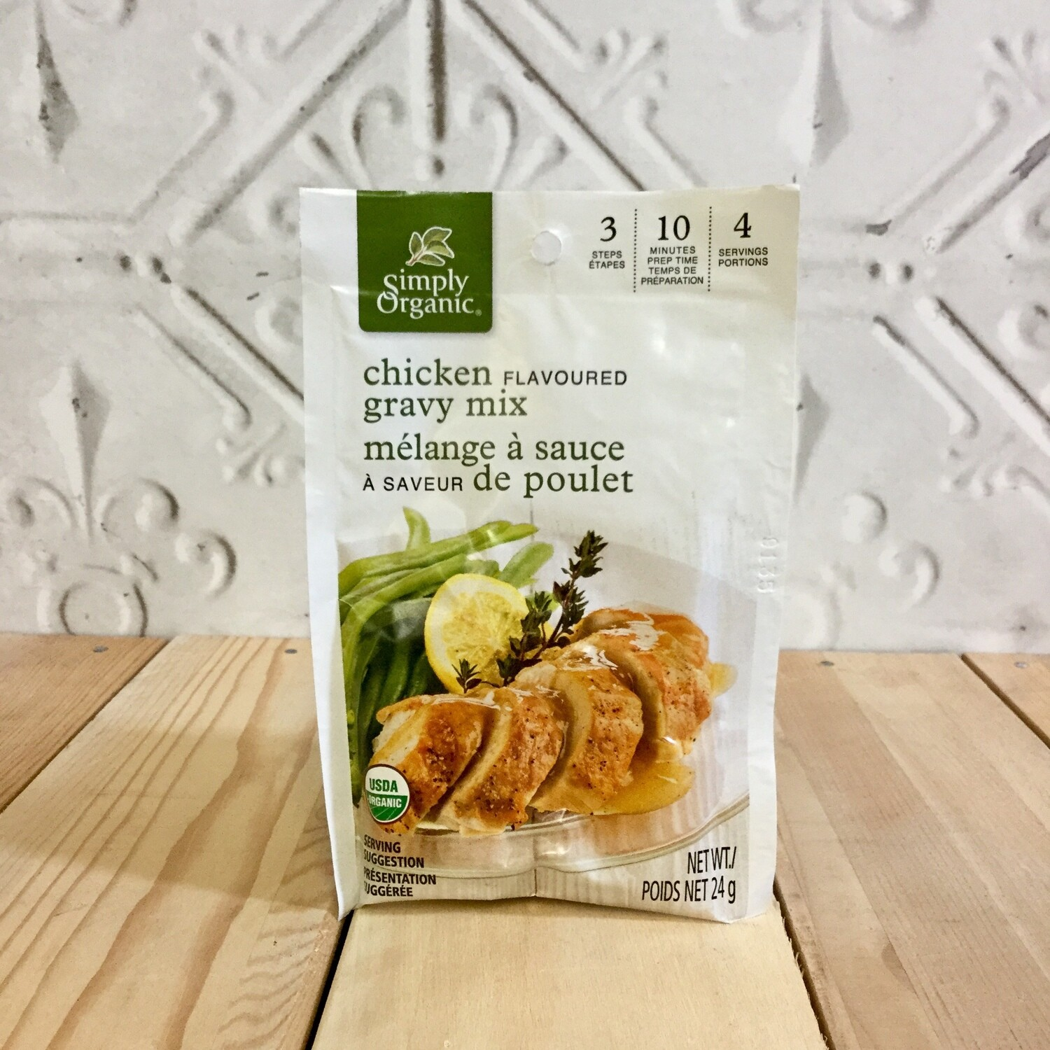 SIMPLY ORGANIC Chicken Flav Grvy Mix 24g