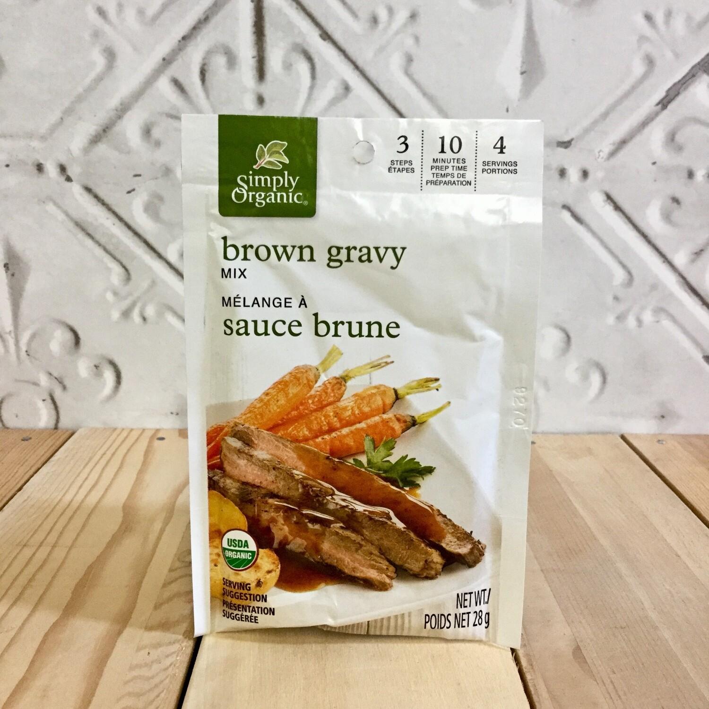 SIMPLY ORGANIC Brn Gravy Mix 28g