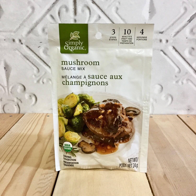 SIMPLY ORGANIC Mushroom Sauce Mix 24g