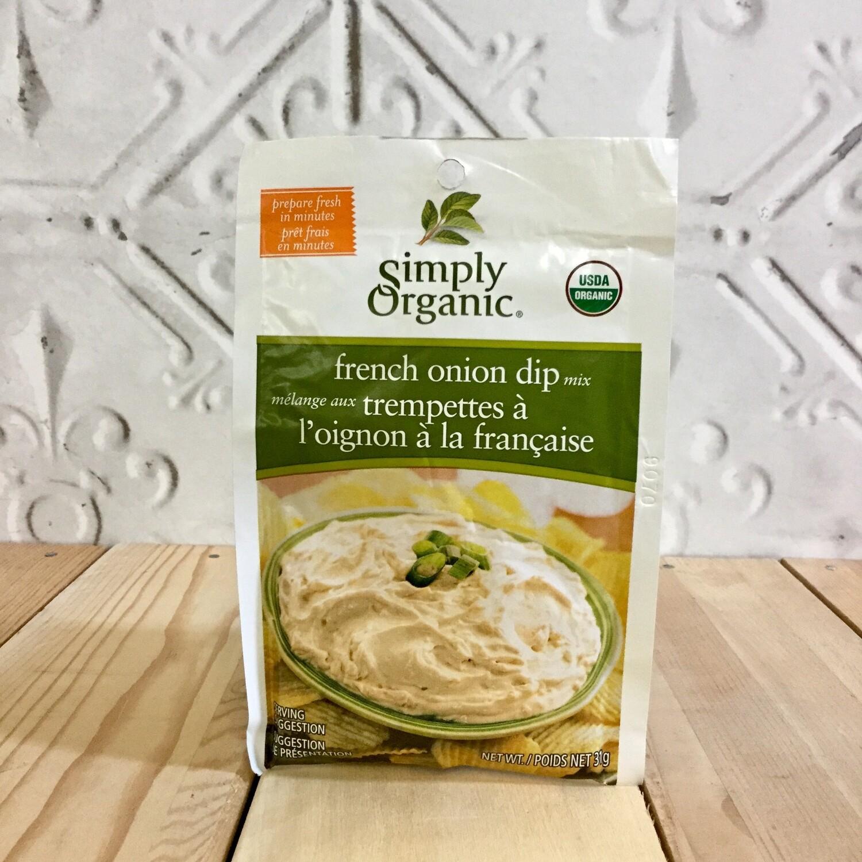 SIMPLY ORGANIC French Onion Mix 31g