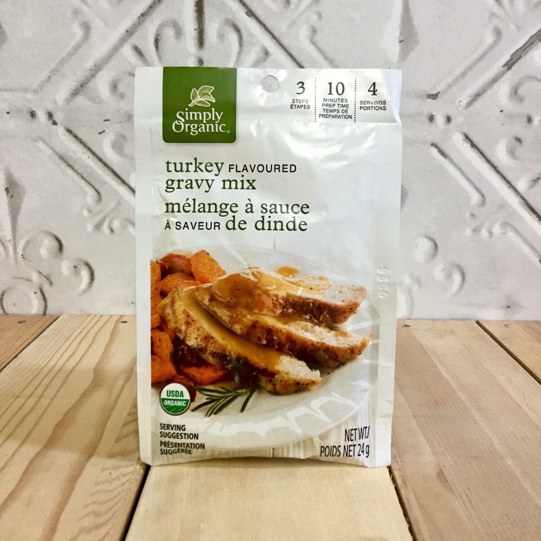 SIMPLY ORGANIC Turkey Flav Gravy Mix 24g