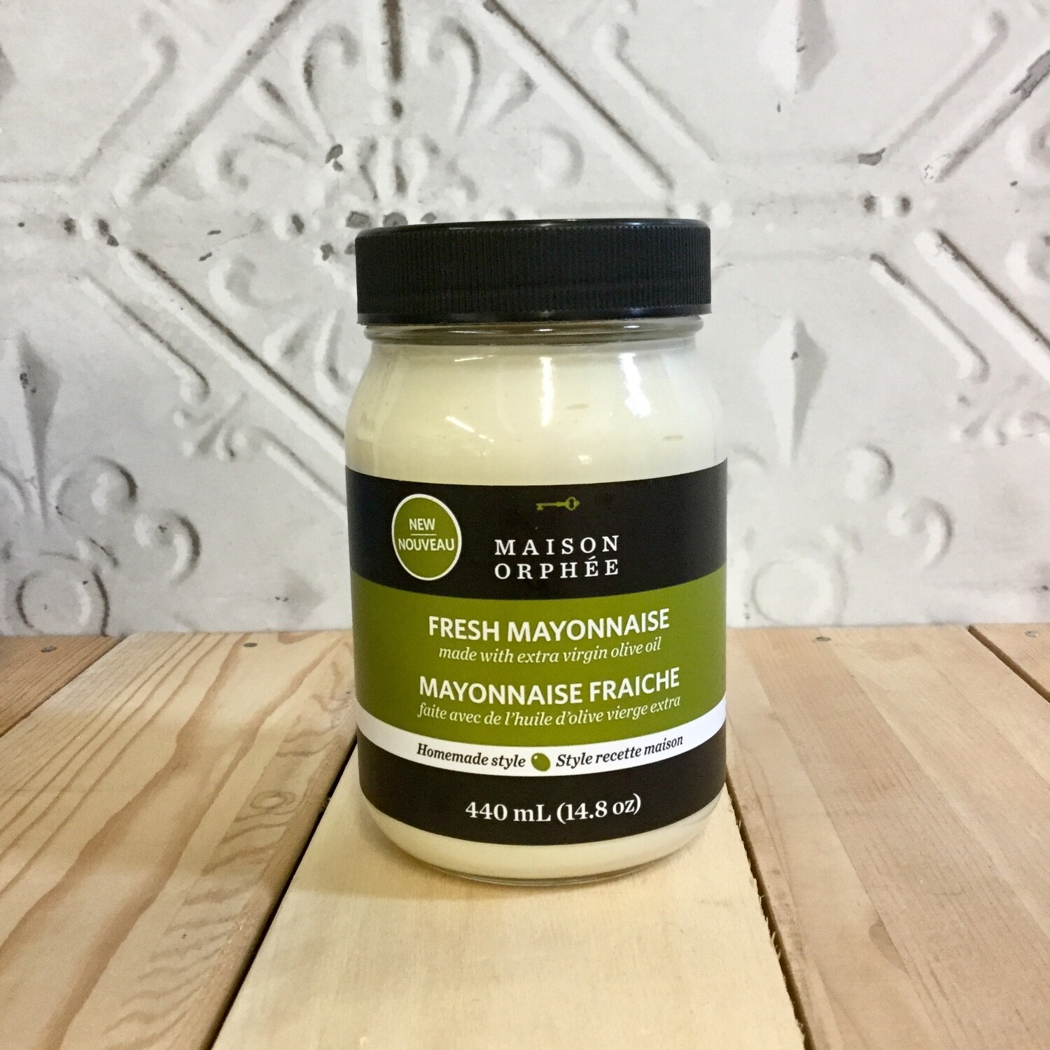 MAISON ORPHEE Fresh Mayo with Olive Oil 440mL