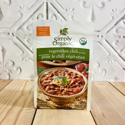 SIMPLY ORGANIC Veg Chili Mix 28g