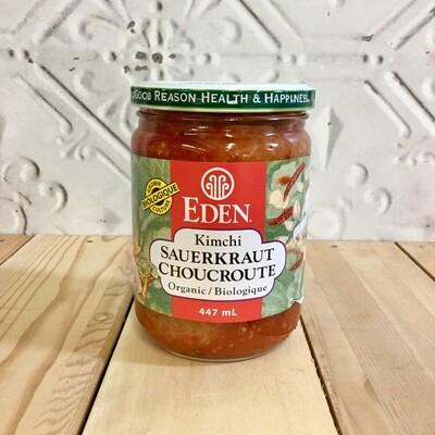 EDEN Kimchi Sauerkraut 447mL