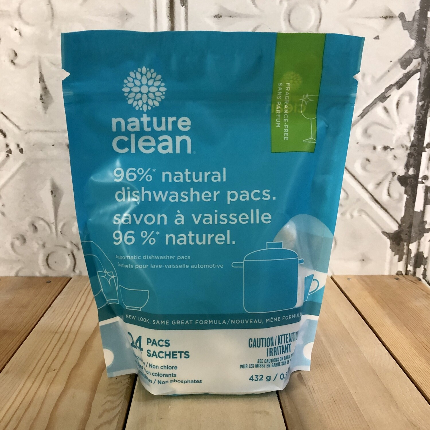 NATURE CLEAN Dishwasher Pacs 24ct