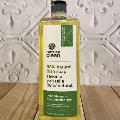 NATURE CLEAN Dish Soap 740mL Lemon Verbena