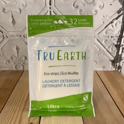 TRU EARTH Laundry Strips Unscented