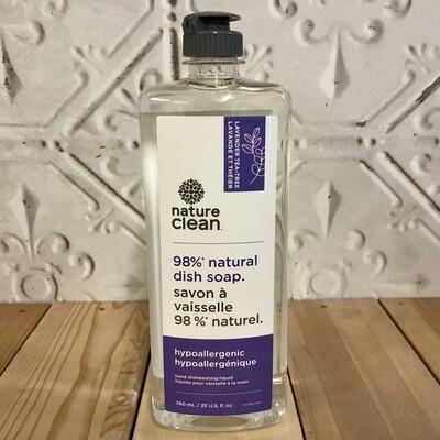 NATURE CLEAN Dish Soap 740ml Lavender