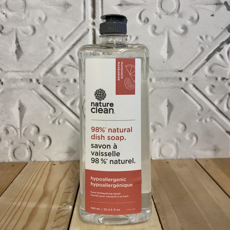 NATURE CLEAN Dish Soap 740ml Mandarin