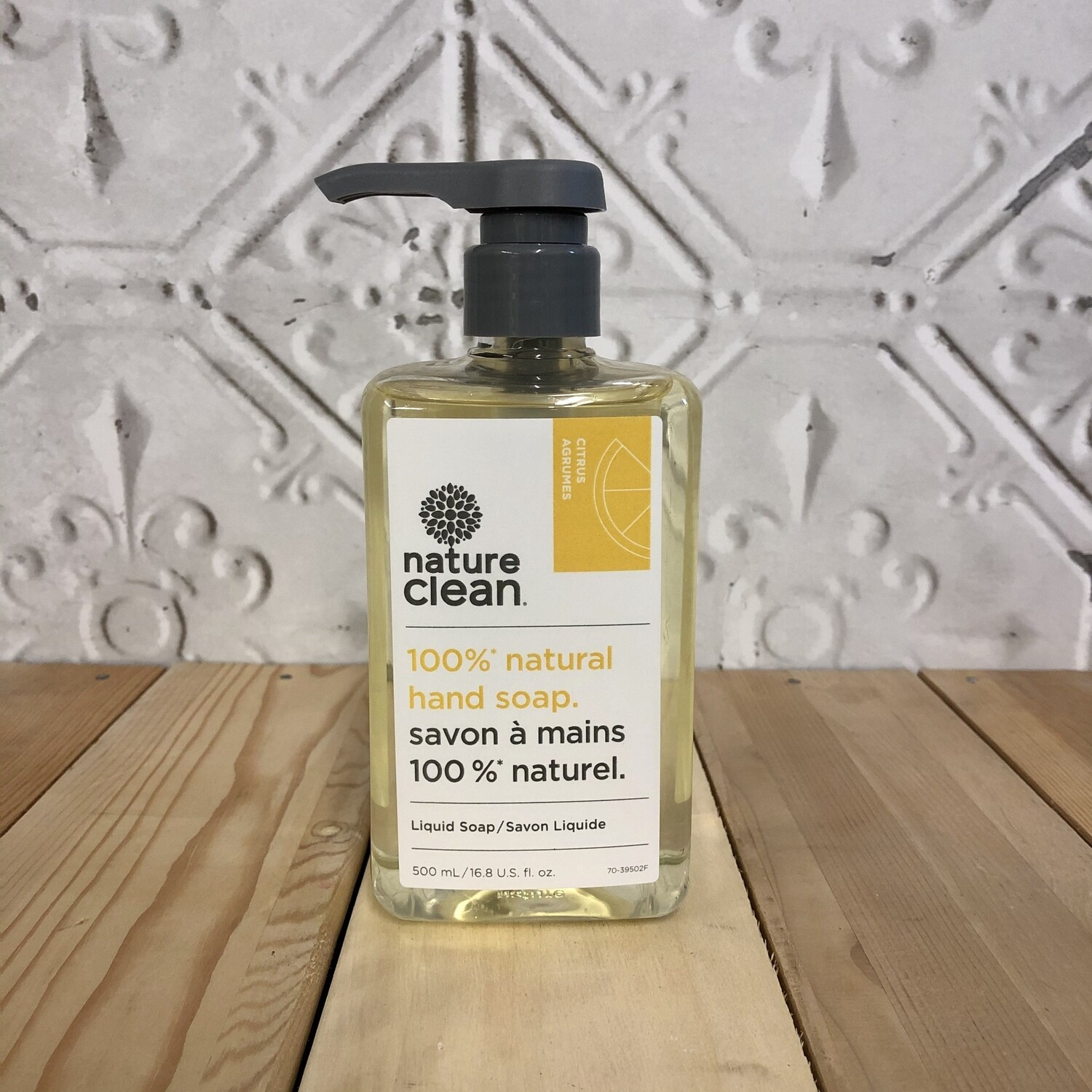 NATURE CLEAN Citrus Liquid Hand Soap 500ml