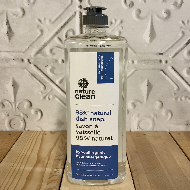 NATURE CLEAN Dish Soap 740ml Hypoallergenic