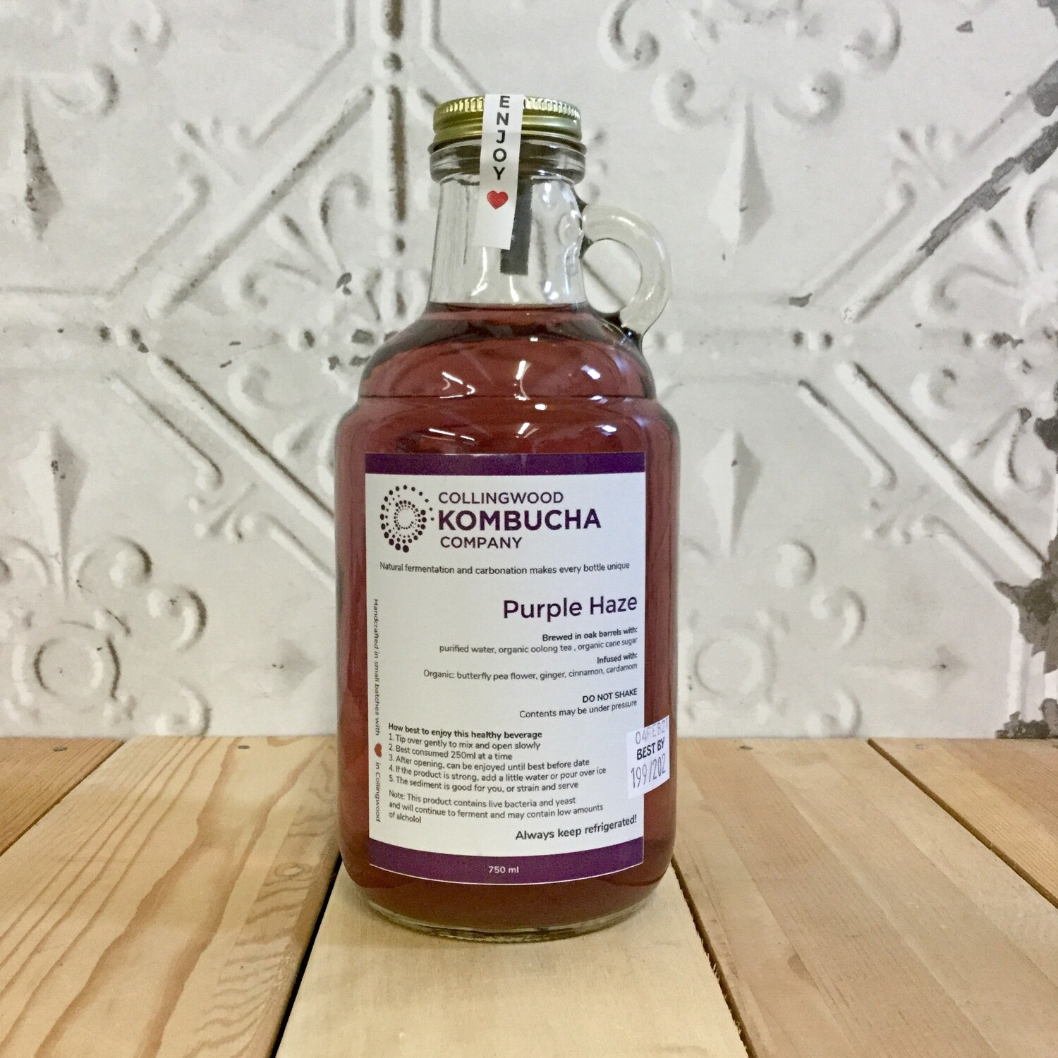 CWOOD KOMBUCHA Purple Haze