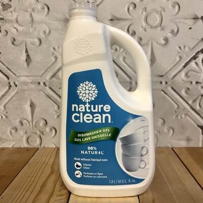 NATURE CLEAN Dishwasher Gel 1.8L